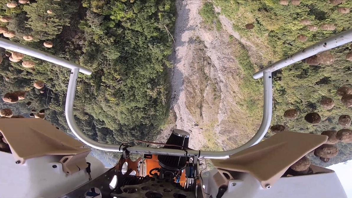利用無人機空投種樹 守護山林「創新」機